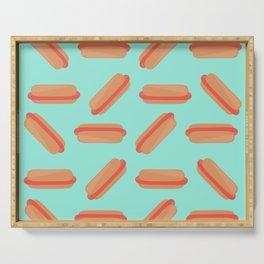 Hotdog Pattern Serving Tray