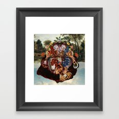 Polyphêmos Framed Art Print