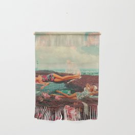 Those Pink Afternoons Wall Hanging