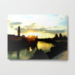 Veronese Sunset Metal Print
