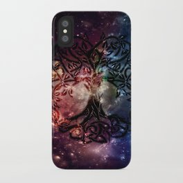 Viking Tree of life iPhone Case