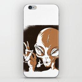 Smoking iPhone Skin
