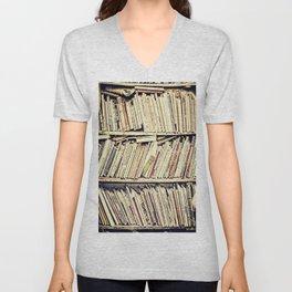 books Unisex V-Neck