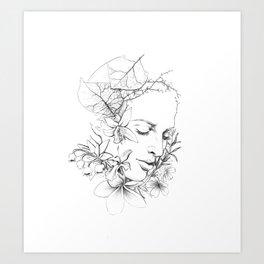 SMELL Art Print
