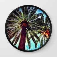 oasis Wall Clocks featuring Oasis by efbii