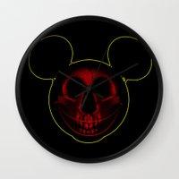 mickey Wall Clocks featuring Mickey by nicebleed