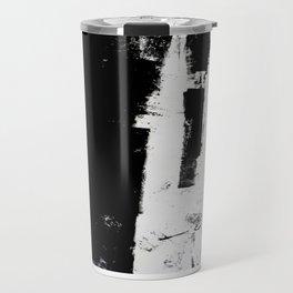 abstract lines Travel Mug