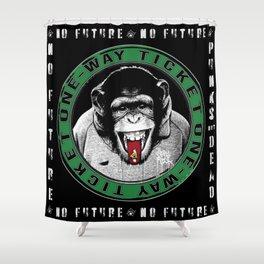No Future One-Way Ticket 3 Shower Curtain