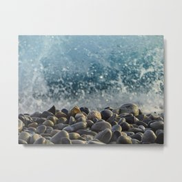 splash of waves Metal Print
