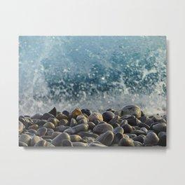 splash of waves Metal Print