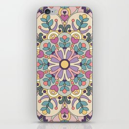 Happiness is Now Mandala iPhone Skin