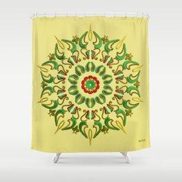 Mandala Reggae Shower Curtain