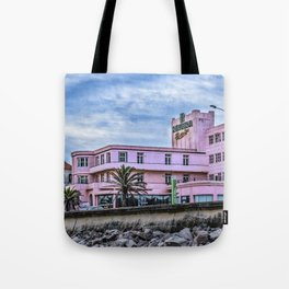 Old Style Waterfront Hotel, Montevideo, Uruguay Tote Bag