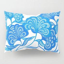 Blue Bloom Pillow Sham