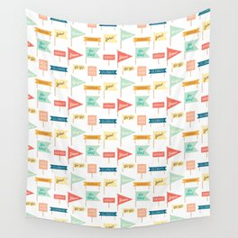 Celebration Flags Wall Tapestry