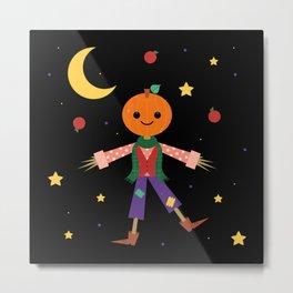 Jack Pumpkinhead Metal Print