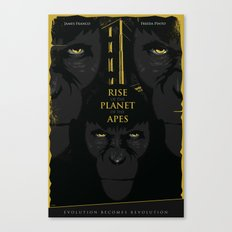 Rise of the Planet of the Apes Canvas Print