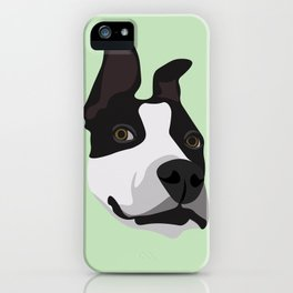 Silly Pitbull iPhone Case