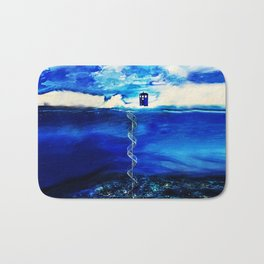 Tardis Cloud Bath Mat