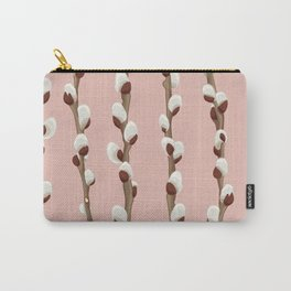 Pink pussy willow Carry-All Pouch