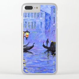 Lilac Night Clear iPhone Case
