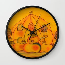 Jellybean Band Wall Clock