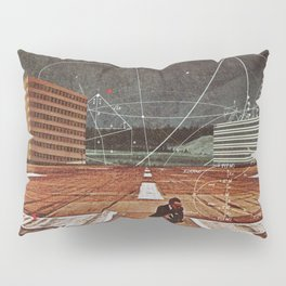 Tracing your Steps Pillow Sham