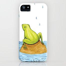 Rain Frog iPhone Case