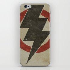 lightning strike zone iPhone Skin