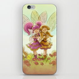 Goblins Drool, Fairies Rule! - P.B. and Jelly iPhone Skin