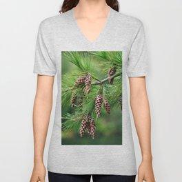 Pine cones Unisex V-Neck