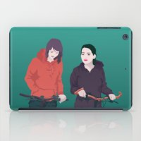 bike iPad Cases featuring BIKE by ketizoloto