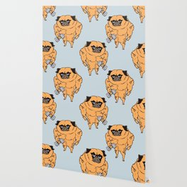 Buff Pug Wallpaper