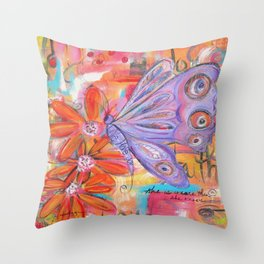 She is more than She knows... Throw Pillow