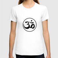 om T-shirts featuring Om by Albino Chewbacca