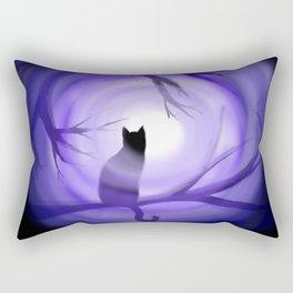 Thru Violet Mist Rectangular Pillow