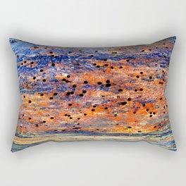 worm holes Rectangular Pillow