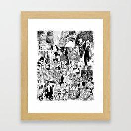 Kekkai Sensen (Blood Blockade Battlefront) Framed Art Print
