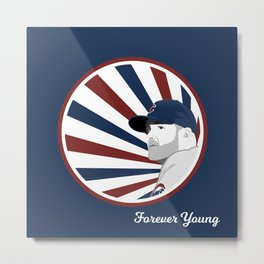Forever Young (Cubs Win) Metal Print