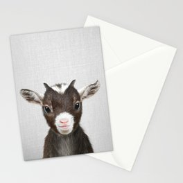 Baby Goat - Colorful Stationery Cards