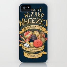 Wheezes iPhone Case