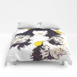 Inktober - Betta Fish Comforters