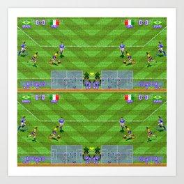 International Superstar Soccer Art Print