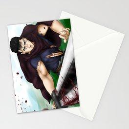 Guts - Berserk Fan Art Stationery Cards