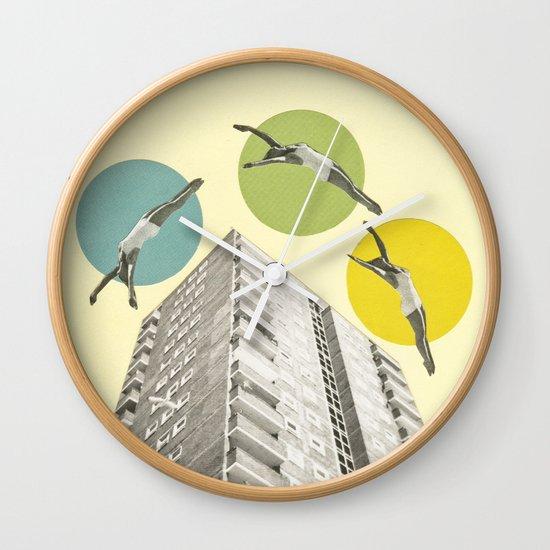 High Flyers Wall Clock