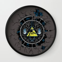 The eye of Providence Wall Clock