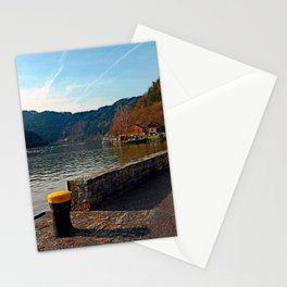 Sunny afternoon at the harbour | landscape photography Stationery Cards