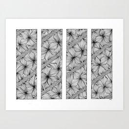 Diagonal Art Print