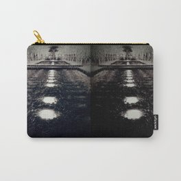 Darker Still - Fountain in Midnight and Black Carry-All Pouch