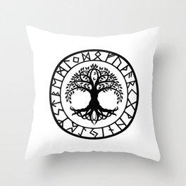 Norse - Yggdrasil Throw Pillow